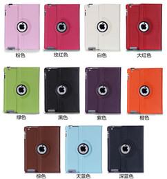 For iPad Pro 9.7 Pu Leather 360 Rotating Case Smart Stand For iPad Air 2 Galaxy Tab Mini Retina Folding Case