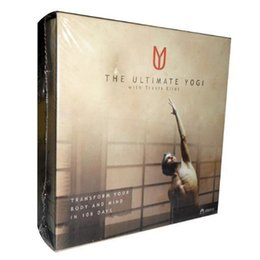 Wholesale The Ultimate Yogi DVD Cheap Yogi Fitness Workout DVDs Set Hot Sale Bodybuilding Exercise Video Disc with Fast DHL Shipping