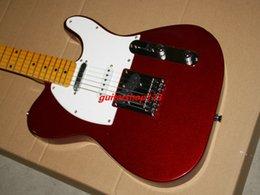 Cuerdas custom shop en venta-Tienda de encargo de la guitarra eléctrica roja 6 cuerdas de la guitarra eléctrica de la venta en el precio bajo libera el envío