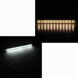 Promotion placards blancs 30cm Blanc / Blanc Chaud SMD 3528 LED Under Cabinet Lumière PIR Motion Sensor d'économie d'énergie lampe de cuisine Armoire Placard Placard