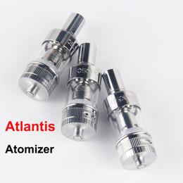 Compra Online Atomizadores al por mayor-Un tanque S Pire 0.5ohm mayorista Sub Ohm bobina Cabeza de cristal RDA Atlantis atomizador Tanque En la caja de la MOD