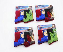 Wholesale 3 Year pairs Iron ManThor Hulk Captain America kids cartoon cotton Children s Socks Baby superhero children baby socks