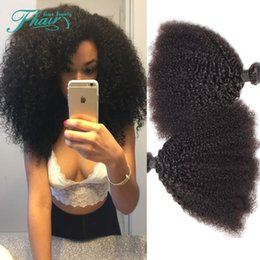 8A Malaysian Kinky Curly Hair,Kinky Curly Hair Weave,Malaysian Afro Kinky Curly Unprocessed Hair Weft Extension 3 Bundles Stock