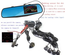 2016 New Promotion 4.3 Inch Dual Cameras Car DVR TFT LCD Screen Rearview Mirror Vehicle Camera