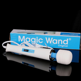 Wholesale Hitachi Magic Wand Massager AV Vibrator Massager Personal Full Body Massager HV R V Electric Massager US EU AU UK Plug Promotion