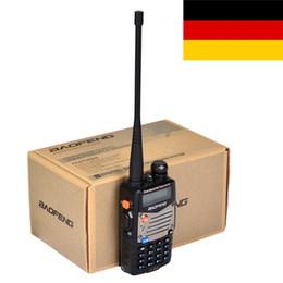 2017 deux radios bidirectionnelles vente Vente en gros-Hot New Black BaoFeng UV-5RA + Dual Band Two Way Radio 136-174MHz400-520 MHz talkie-walkie livraison gratuite bon marché deux radios bidirectionnelles vente