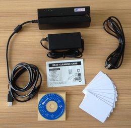 Wholesale MSR900 All Tracks Magnetic stripe Encoder Magnetic Card Reader Writer