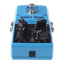 Efectos de modulación en Línea-NUX MOD Core Efecto de Guitarra Pedal 8 Efectos de Modulación Preset Tone Lock True bypass Alta Calidad Accesorios de Guitarra Accesorios