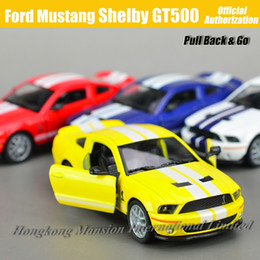 1:36 Scale Diecast Alloy Metal Car Model For Ford Mustang Shelby GT500 Collectible Model Collection Toys Car
