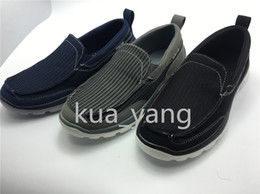 Wholesale New Arrived Performance Man casual Air Mesh Spring Fall breathable low top walking Slip on lightweight Massage comfortable