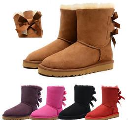 Wholesale Winter Snow Boots Ms Cotton shoes Bandage Women boots Fashion Comfortable Keep warm Women boots Women s shoes Large size men shoes