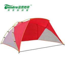 Wholesale Summer Beach Canopy Tent For People Outdoor Awning Tourist Pergola Camouflage Ultralight Sun Fishing Shelter Gazebo