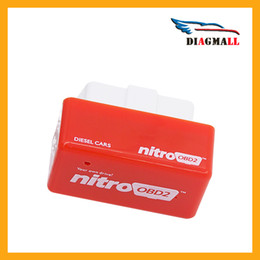 Wholesale 2016 Hot New Arrival Nitro OBD2 Chip Tuning Box For Diesel Auto OBD2 Diagnostic Tools NitroOBD2 Performance Plus and Drive