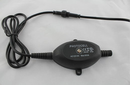 Las luces de carga en Línea-DC 12V 60W Fotocélula Sensor de luz Interruptor IP67 LED Fotocélula PC Máx. Energía de la carga 60W para el interruptor de luz al aire libre usado para las luces del LED