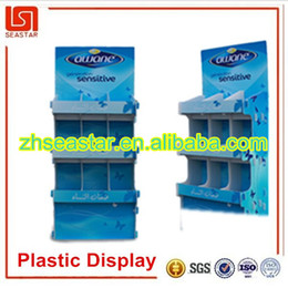 Wholesale New product China supplier competitive price best quality custom durable lightweight recyclable pp plastic floor display stand