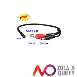 Micrphone Mic for CCTV Security Camera Surveillance DVR Recorder