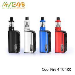 100%Authentic Coolfire IV TC 100 starter Kit With Cool Fire 4 TC100 3300mah TC 100w Mod Aethon Chipset ISub V Tank