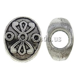 Wholesale New Arrival Fashion Ball Flower Bali Style Metal Antique Tibetan Silver Spacer Beads Findings Jewelry Making DIY