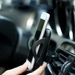Vent mount gps à vendre-REMAX Universal Air Vent Mount Car Support à 360 degrés de rotation à haute compatibilité Le Outlet Support Pour GPS Téléphones intelligents