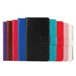 Wholesale PU Leather Cell Phone Cases Dirt resistant Water resistant Best Protective Colorful Mobile Phone Accessories for huawei p8 mini lite CA083