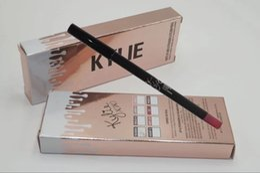 Wholesale 2016 Lip Kit Kylie lip liner lip pencil colors Make up kylie junner brand set Cosmetics