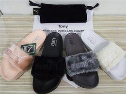Wholesale Fur Slide size