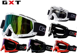 2016 New GXT G980 motorcycle goggles Racing off-road helmet goggles Windproof ski glasses Knight riding goggle Dust Anti-wrestling