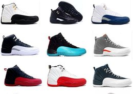 Wholesale 2016 product air retro ovo white man Basketball shoes Gym red French Blue Gamma Blue the master Taxi Playoffs Grey Sneakers Boots