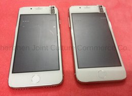 Wholesale goophone i7 iphone7 mobile G smart phone dual card ultra thin inch low cost android goophone i6 black