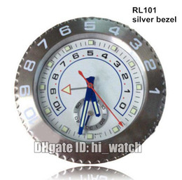 Supler Clone Luxury Brand Design Cheap Wall Decoration Silver Benzel 116689 Steel Wall Watch Clock Wallclock Type Branded horloge murale