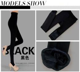 Wholesale-Winter Down Pants Women Warm Large Size Trousers Thick Thermal Fleece Outer Wear Warm Women Winter Leggings 7 Color DEB