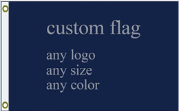 Wholesale custom flag any size company advertisement flags and banners x5 FT U S A sports NHL MLB NCAA flag and so on