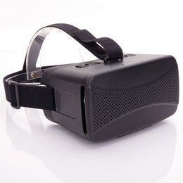 Wholesale USA Wearable VR Virtual Reality D Viewing Google Glasses Black for IMAX D Moive Phone