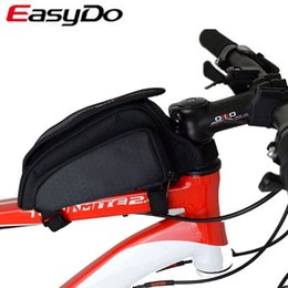Wholesale Easydo Waterproof Cycling Bag Bike Front Tube Bicycle Frame Bags Accessories Package Promotion New Bolsa Bisiklet Aksesuar