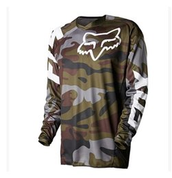 2016 newest summer Lee brand TLD Motocross Rider racing camouflage T-shirt Super surrender size S~XXXXXL Army Green