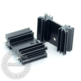 Wholesale 10 bag TO heatsink audio heatsink transistor heat sink block MM