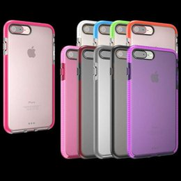 Wholesale Impact Clear Case for iPhone iPhone Plus Soft TPU Cover Material with Retail Bag up