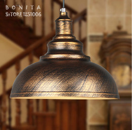 Wholesale Creative light lighting restaurant Vintage simplicity Home indoor lamp fixture iron Lamp Staircase lamp Industrial new bronze Pedant Light