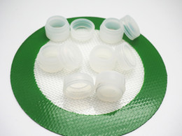 Wholesale Stock in USA CLEAR ml small cheaptest clear Silicone Nonstick Container for Concentrate wax tub
