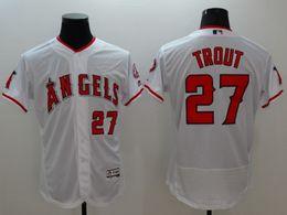 Wholesale 2016 red Los Angeles Angels Mike Trout Rod Carew Albert Pujols Nolan Ryan Reggie Jackson Simmons MLB Baseball Jerseys