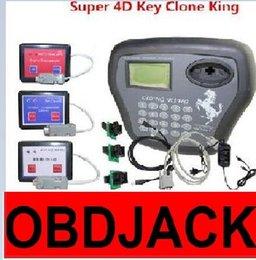Wholesale 2016 New Clone Key King Programmer V3 with D Clone Key D Chip Clone King AD900 Transponder Clone Key Ship Free Best Quality