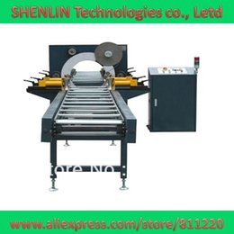 Wholesale Automatic horizontal pipe and bar shaped product wrapping machine steel plastic product forming wrapper door packaging equipment