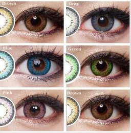 Wholesale 2016 New Gunuo Series colored contact lenses for eyes yearly use mm big eyes crazy lenses halloween Freeshipping