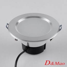 Wholesale Anti Fog Led Downlight W5W7W9W Recessed LED Ceiling lamps Spot lights Down Lights AC100 V With Power Supply for Home illumination