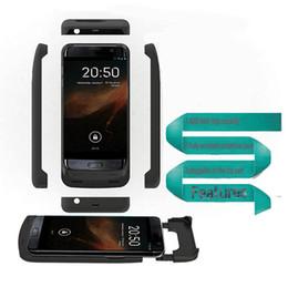 Wholesale 2016 Boîtier de batterie externe Samsung S7 Edge Powerbank Batterie de secours Power Bank Chargeur de secours pour Samsung Galaxy S7 S7 Edge