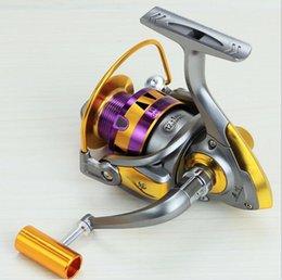 Wholesale HB series of new fishing vessels fish reel fishing reels lures sea rod round wheel metal rocker gapless