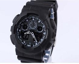 Newest Latest model watch ga100 ga 100 watch, classic sports wristwatch relogio reloj de pulsera, LED WATCH