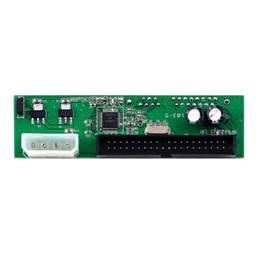 PATA IDE A SATA Convertidor Tarjeta Adaptador PlugPlay 7 + 15 Pin 3.5 / 2.5 SATA HDD DVD desde pata ide dvd fabricantes