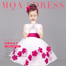 Wholesale Children s princess dress skirt girl s bitter fleabane bitter fleabane skirt flower girl dress white wedding dress