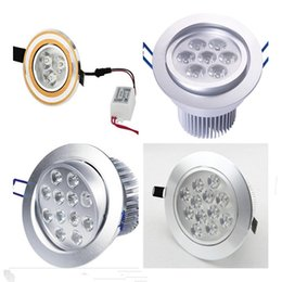 Top LED Ceiling light 3W 7W 9W 21W panel light LED ceiling lamp led light LED Downlight AC 110V 220V CE UL RoHs
